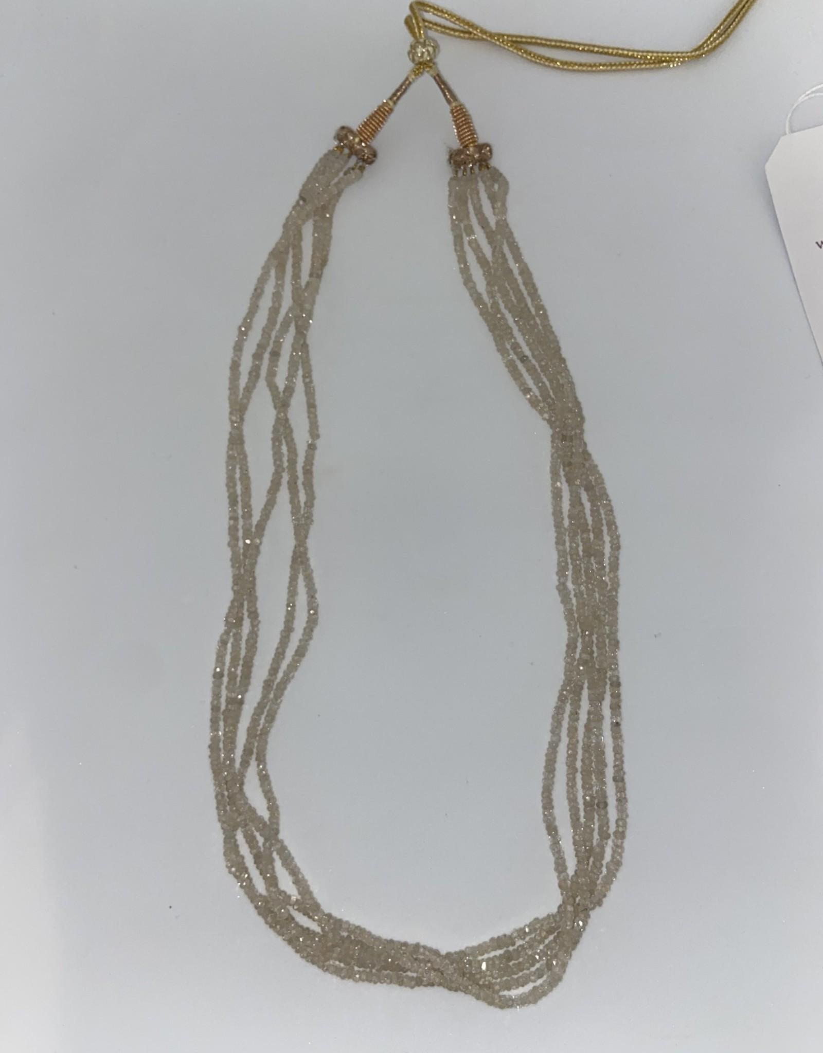 Wendy Perry Designs Taj Champagne CZ Necklace