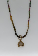 Wendy Perry Designs London Tourmaline Necklace with Fob