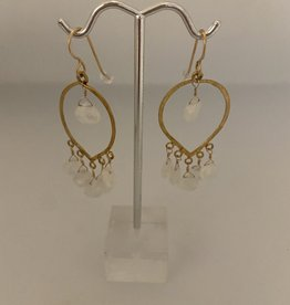 Wendy Perry Designs Gemma Moonstone Earring