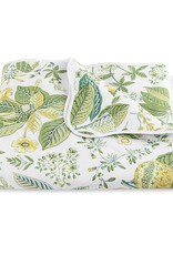 Matouk Pomegranate - Schumacher 18th century print on 500 thread count Egyptian cotton percale