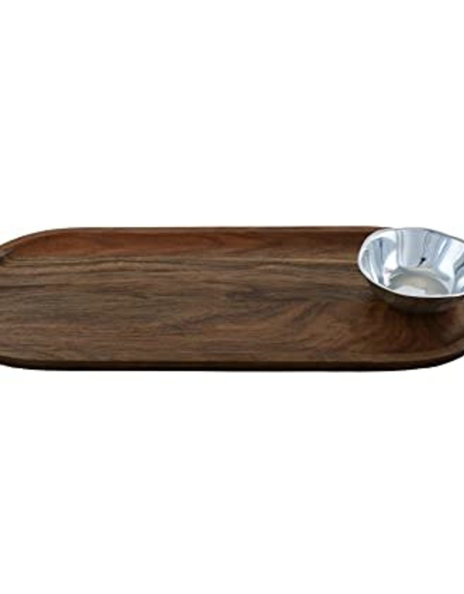 Home Cutting Board with Soho Round Mini Bowl