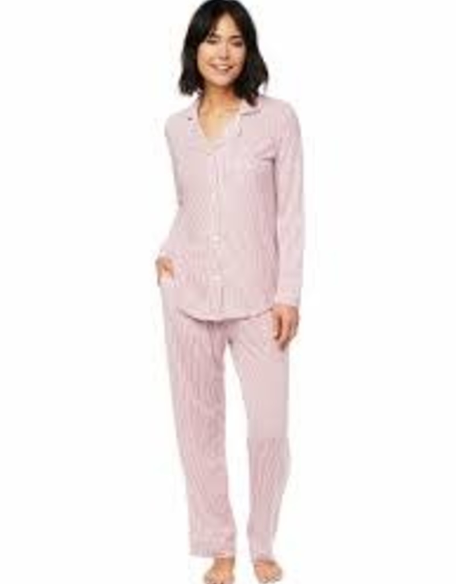 The Cat's Pajamas Simple Stripe Lux Pima Pajamas