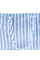 Mainstreet Collection Blue Stripe Diaper Bag