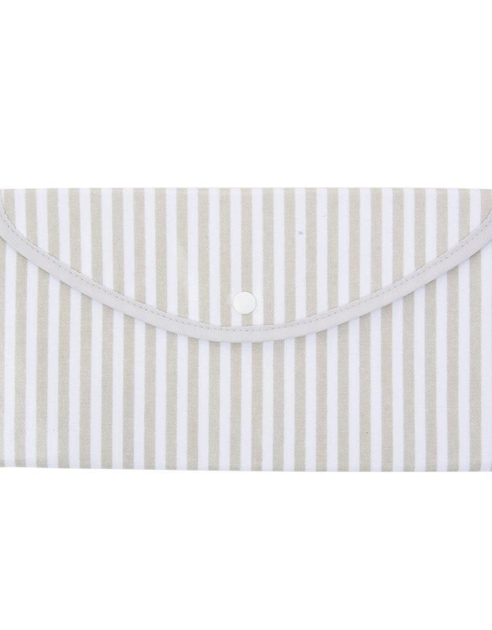 Mainstreet Collection Gray Stripe Envelope