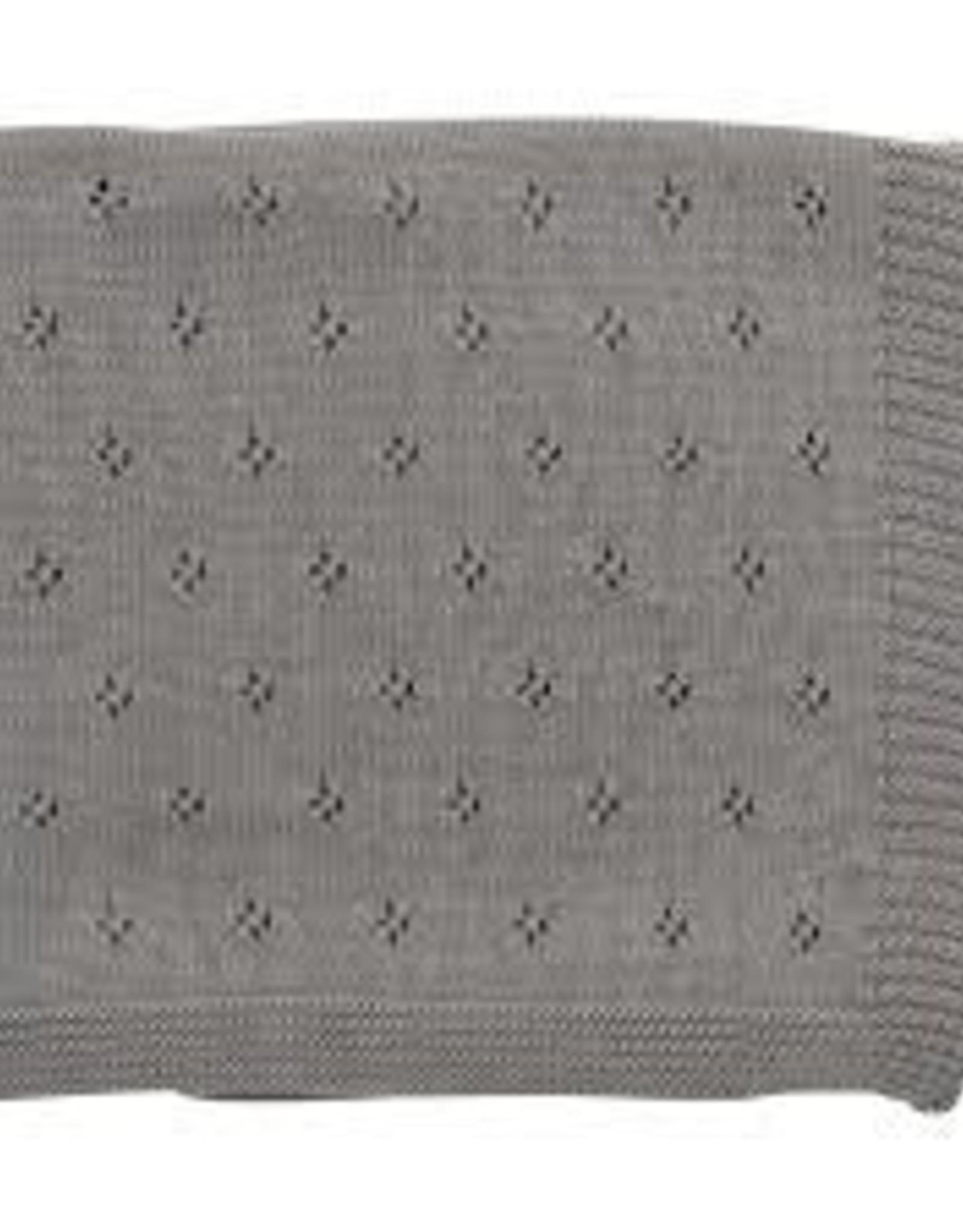 Zestt Clover Knit Baby Blanket