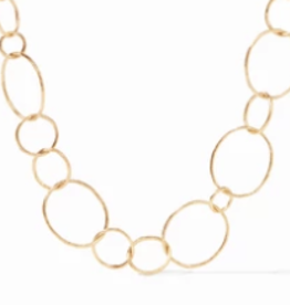 Julie Vos Colette Textured Gold Necklace