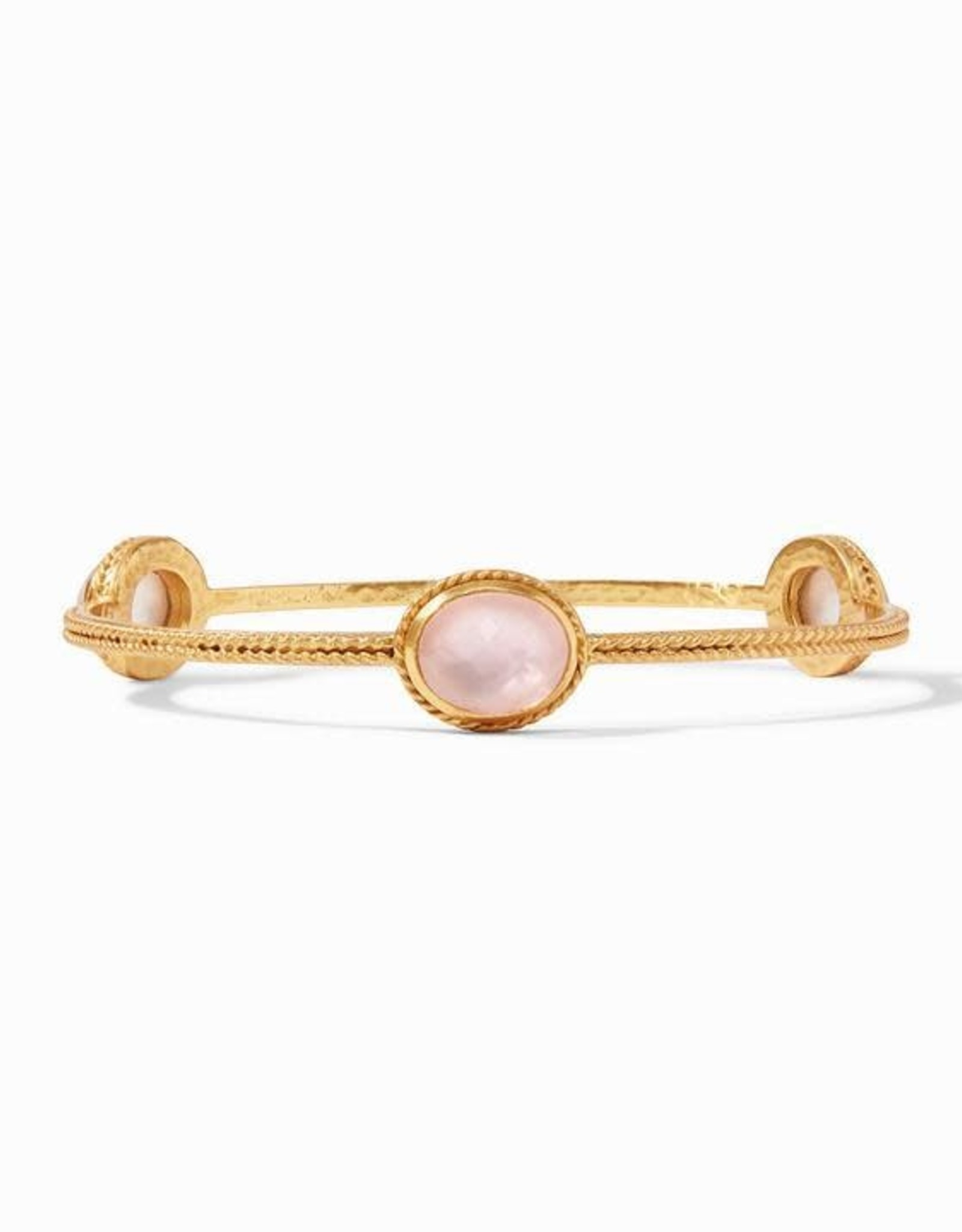 Julie Vos Calypso Bangle Gold Iridescent Rose - Medium
