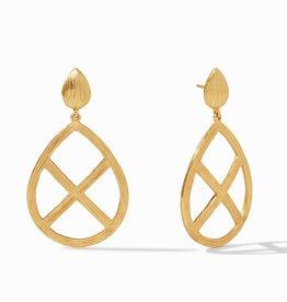 Julie Vos Aspen Statement Earring Gold