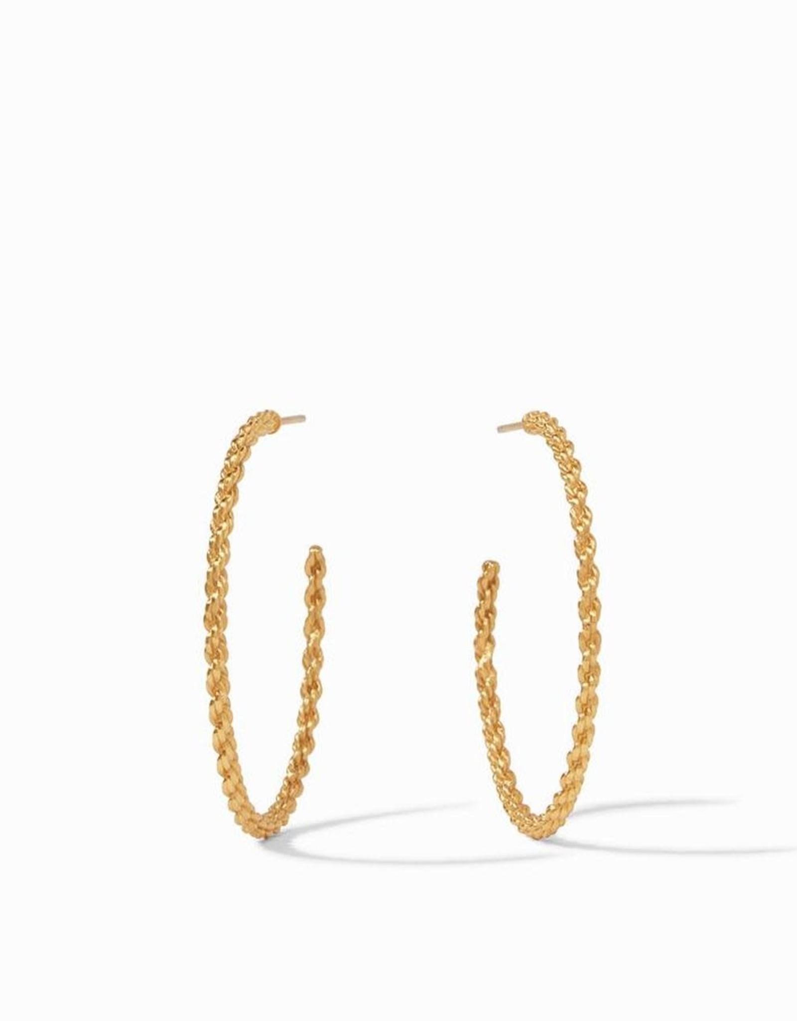 Julie Vos Cascade Hoop Gold - Large