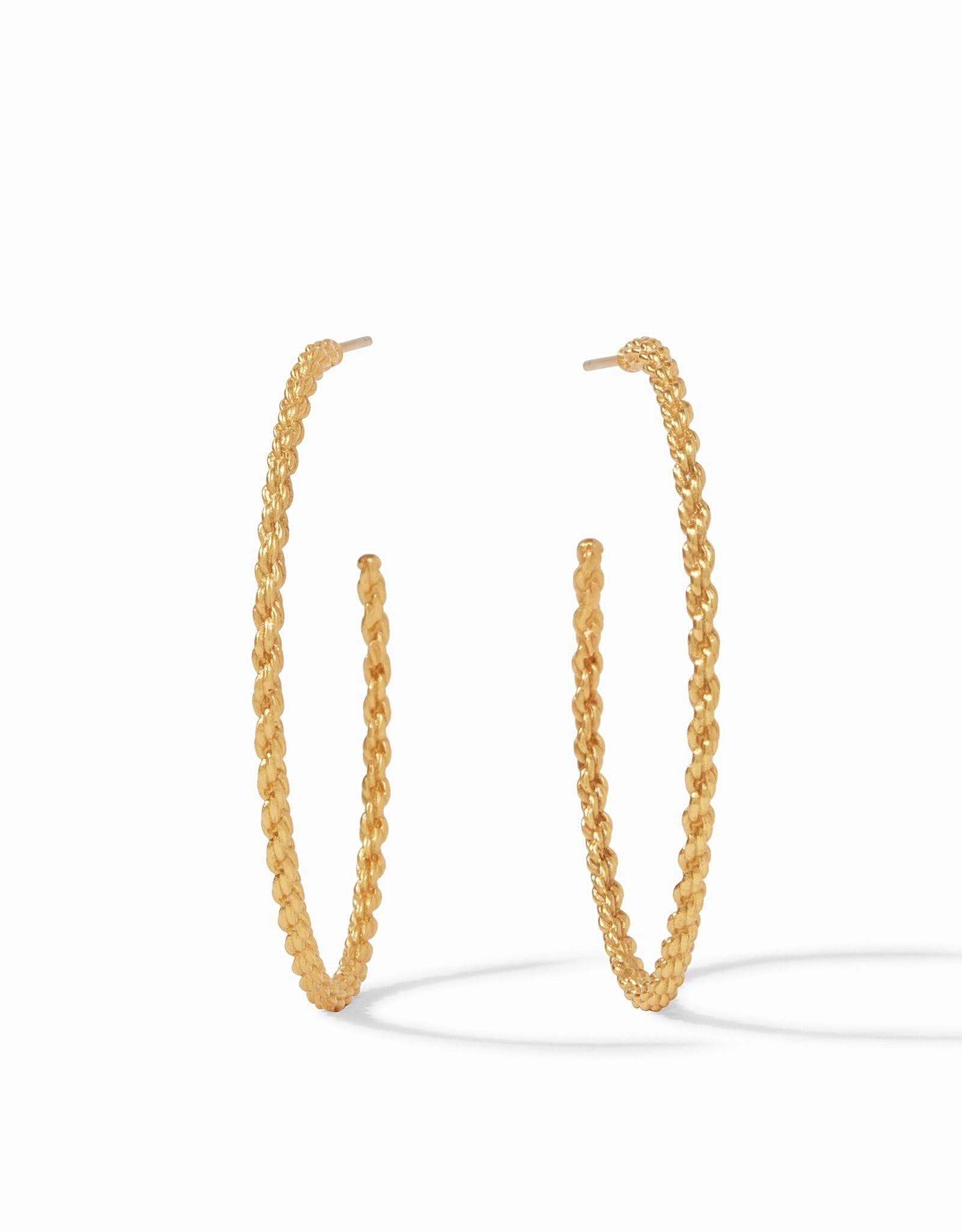Julie Vos Cascade Hoop Gold - Extra Large