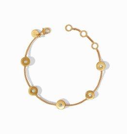 Julie Vos Poppy Delicate Bracelet Gold CZ