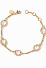 Julie Vos Calypso Delicate Bracelet Gold Rose