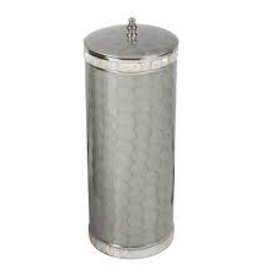 Home Classic Toilet Tissue Covered Holder - Platinum