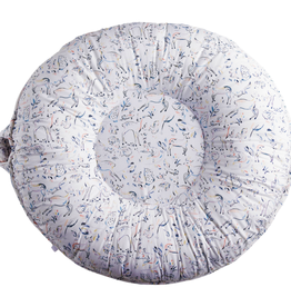 Pello Carter Light Grey Floor PIllow