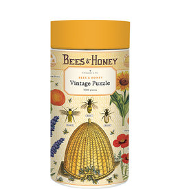 Cavallini Bees & Honey 1000 Piece Puzzle
