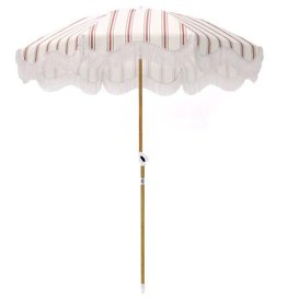 Home Holiday Beach Umbrella - French Stripe