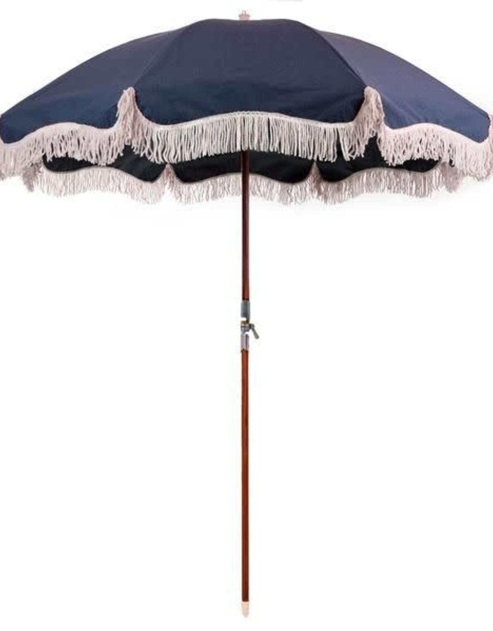 Home Premium Beach Umbrella - Boathouse Navy