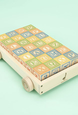 Gifts Classic ABC Blocks with Wagon