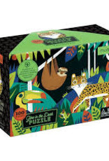 Hachette Book Group Rainforest Glow in the Dark Puzzle