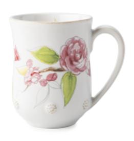 Juliska Berry & Thread Floral Sketch Camellia Mug