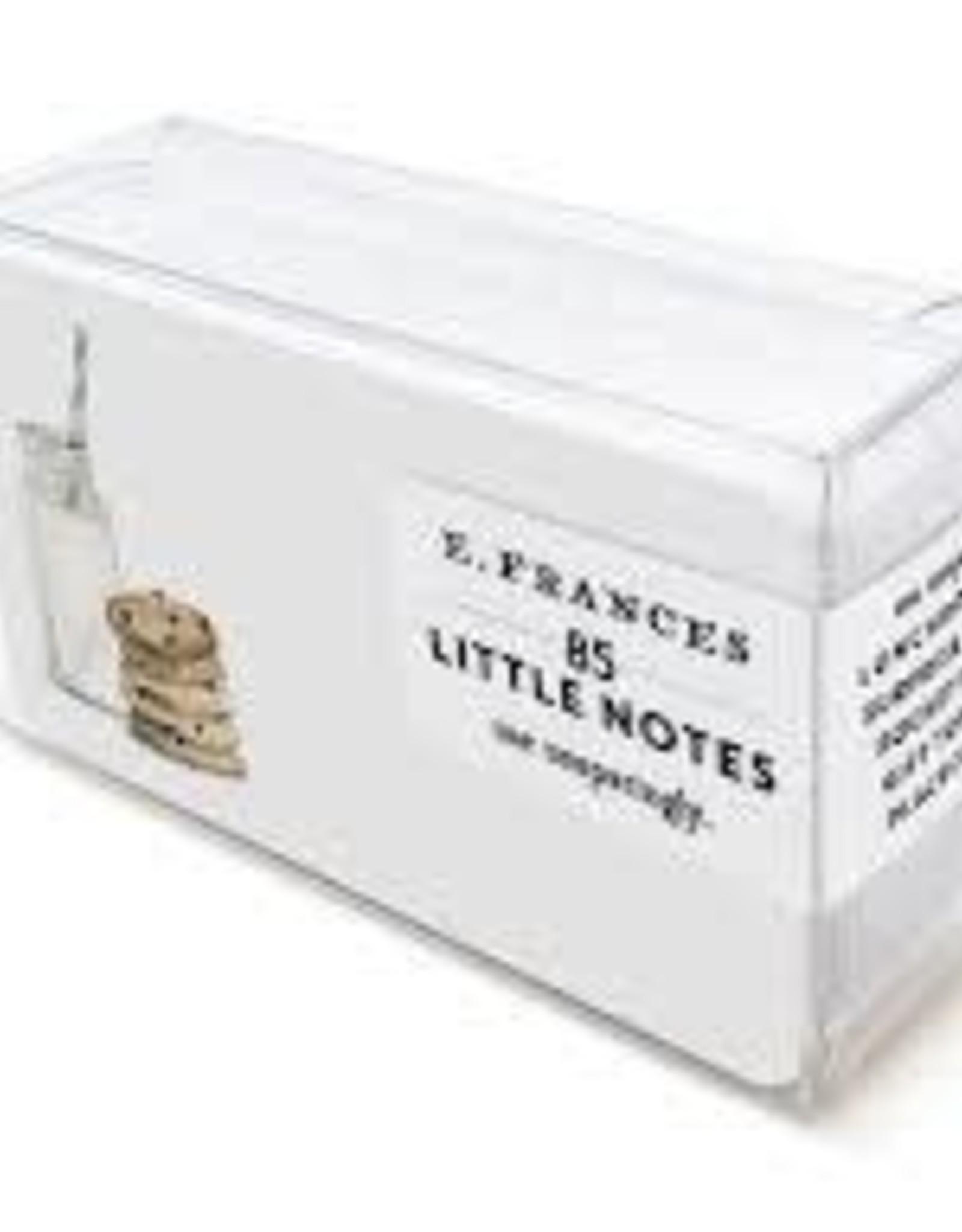 E. Frances Paper Cookies & Milk Little Notes