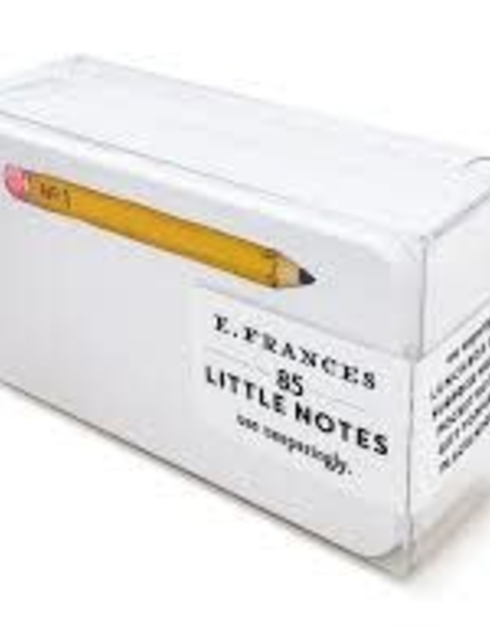 E. Frances Paper Pencil Little Notes