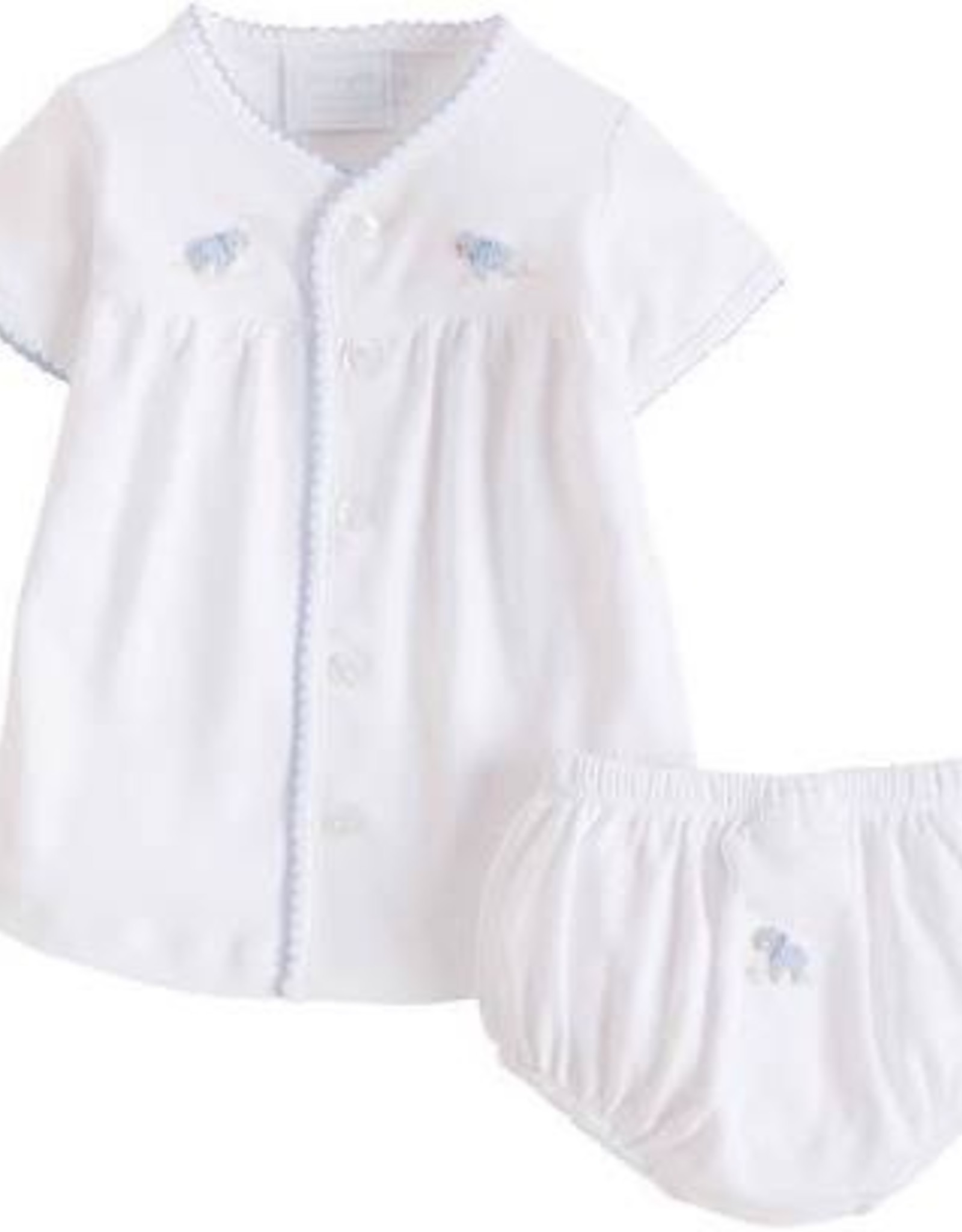 Gifts Pinpoint Layette Knit Set