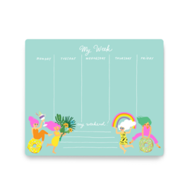 Noi Publishing Fun Girls Weekly Planner