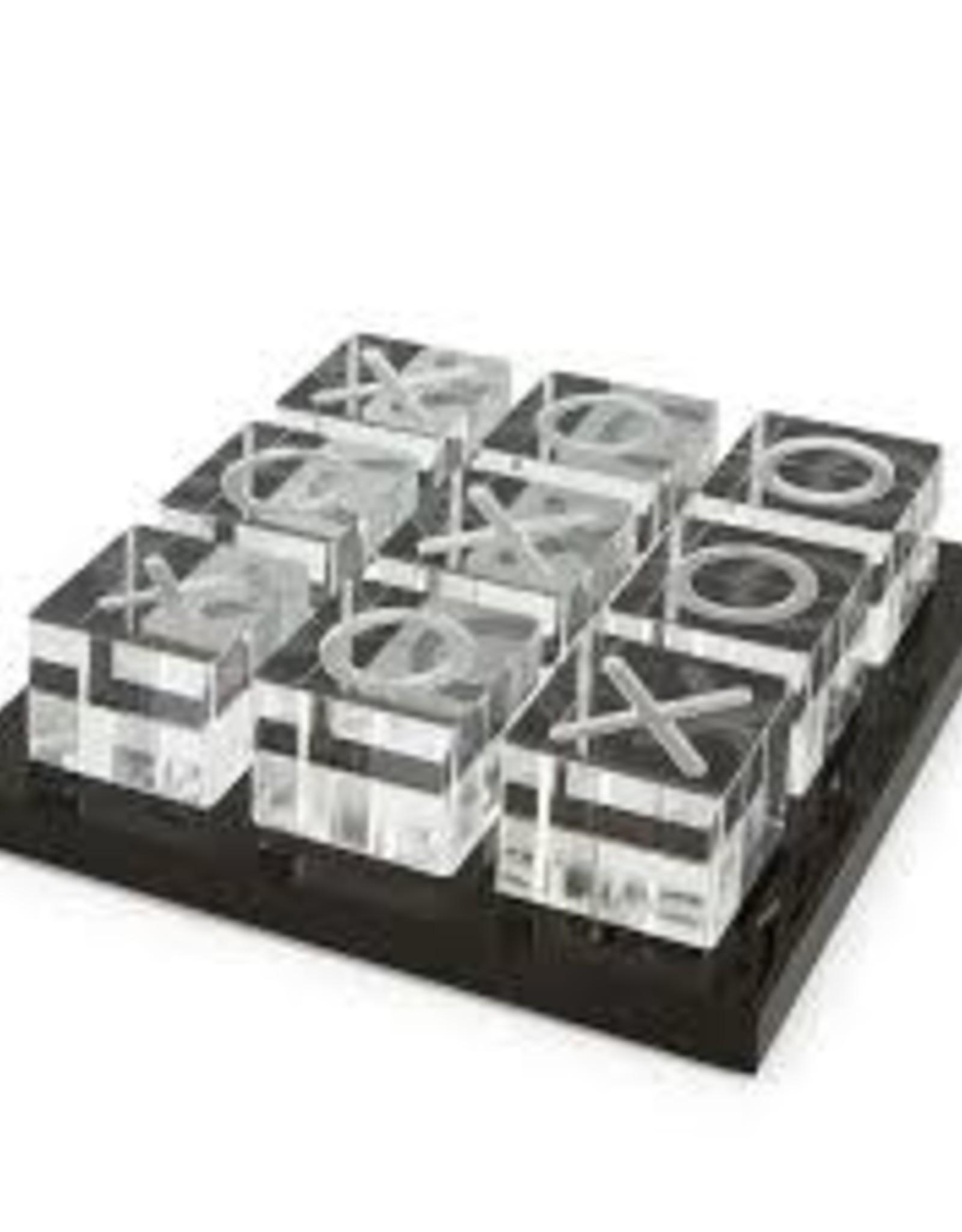 Tizo Design Acrylic Black/White Tic Tac Toe Board