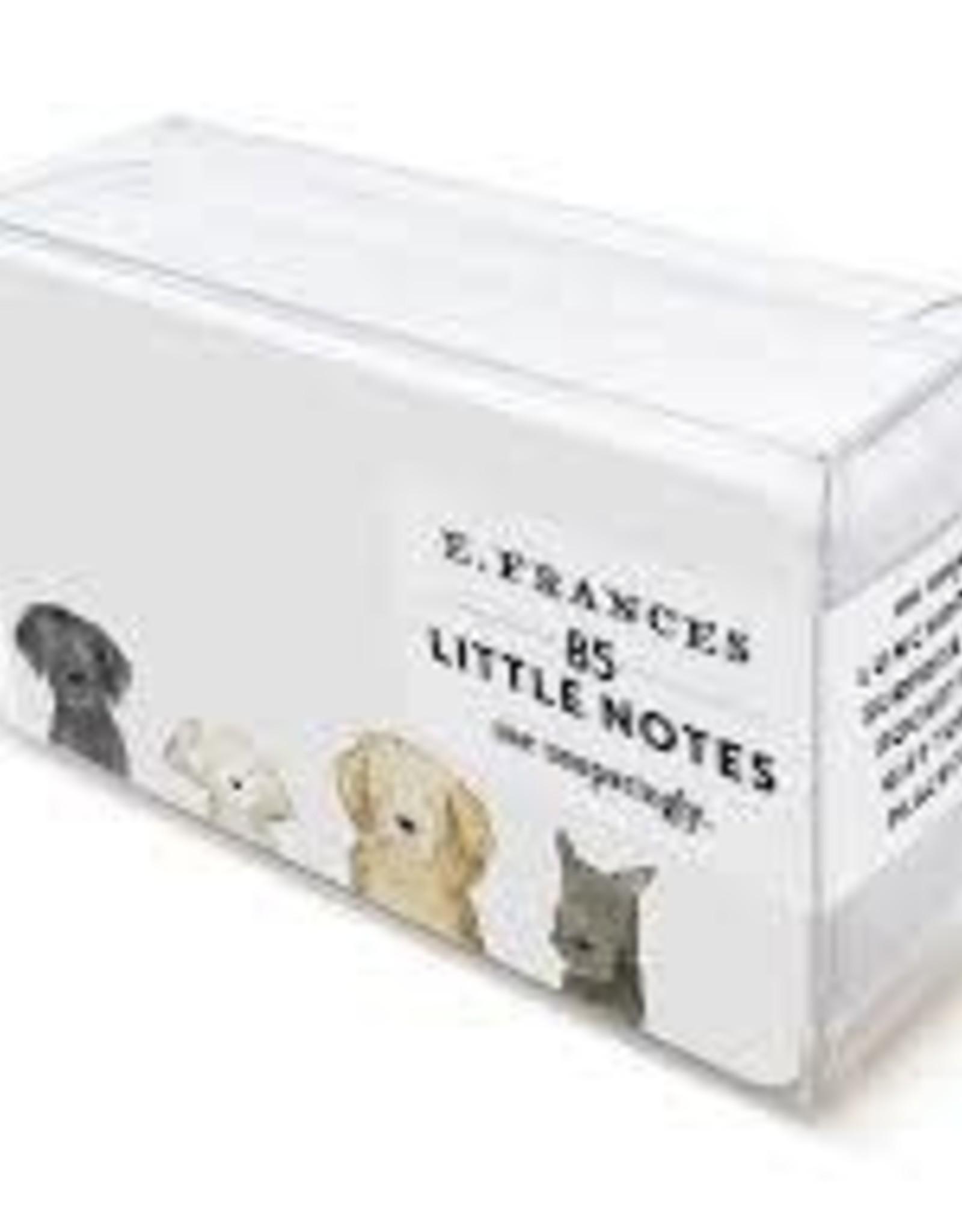 E. Frances Paper Dog Days Little Notes