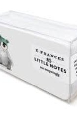 E. Frances Paper Penguin Little Notes