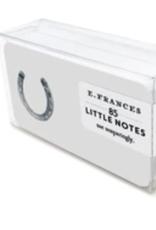 E. Frances Paper Lucky Horseshoe Little Notes