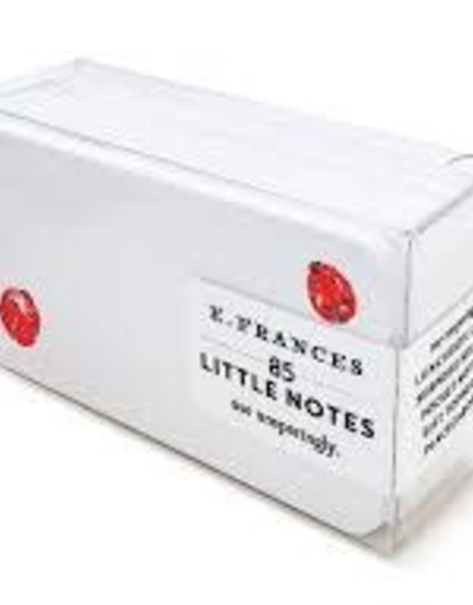 E. Frances Paper Ladybugs Little Notes