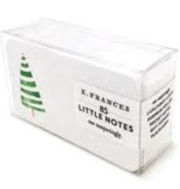 E. Frances Paper Stripey Tree Little Notes