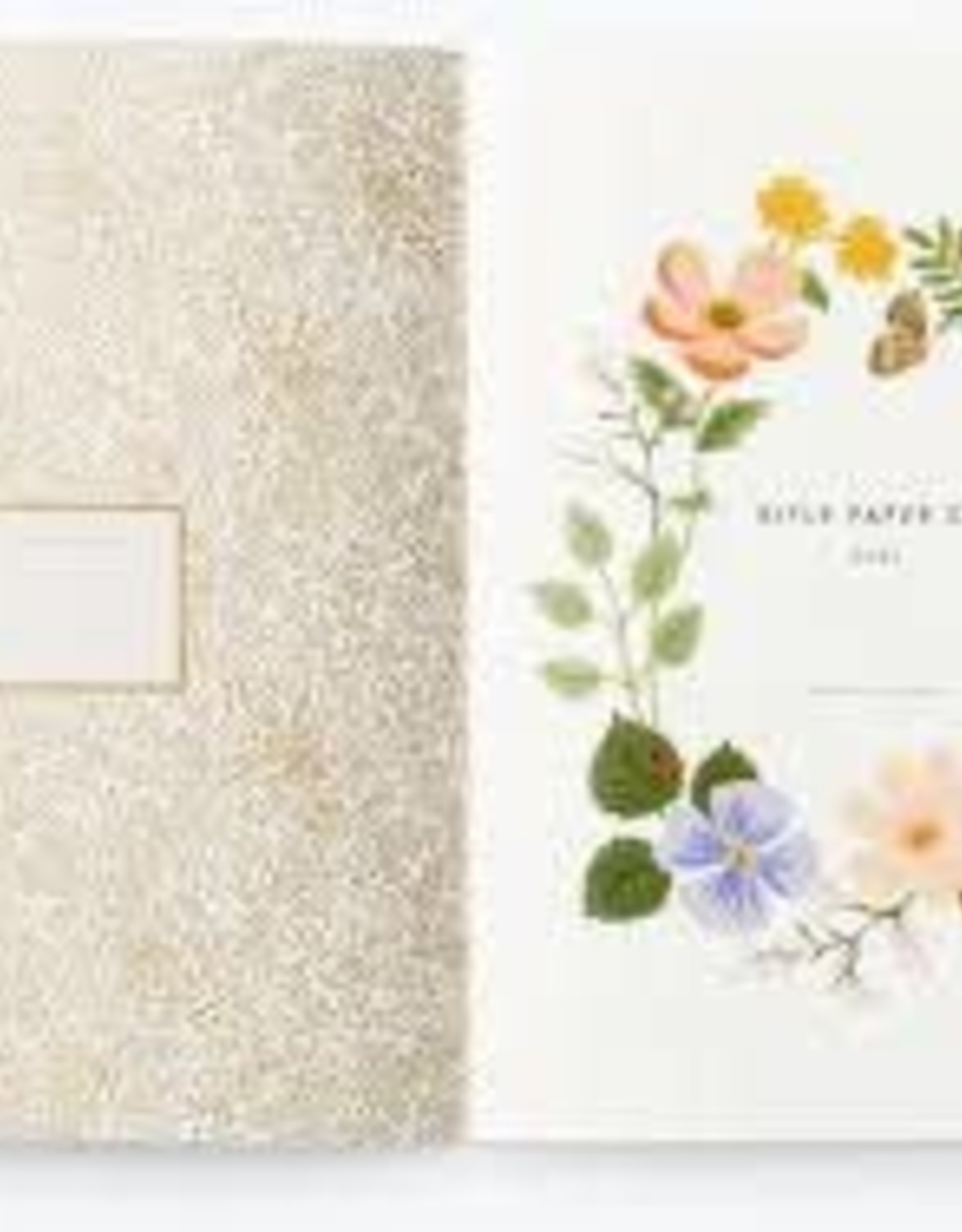 Rifle Paper Co. 2021 Wild Garden Appointment Book