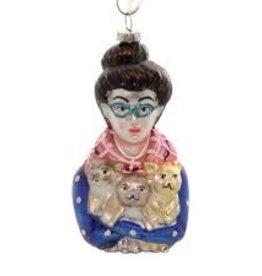 Cody Foster Cat Lady Ornament