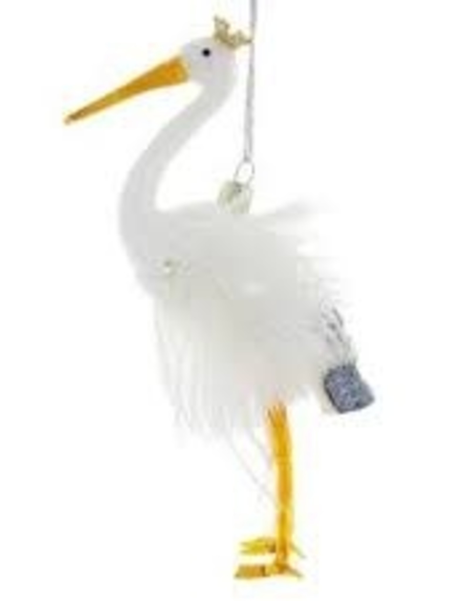Cody Foster Crowned Stork Ornament