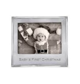 Mariposa Baby's First Christmas Frame