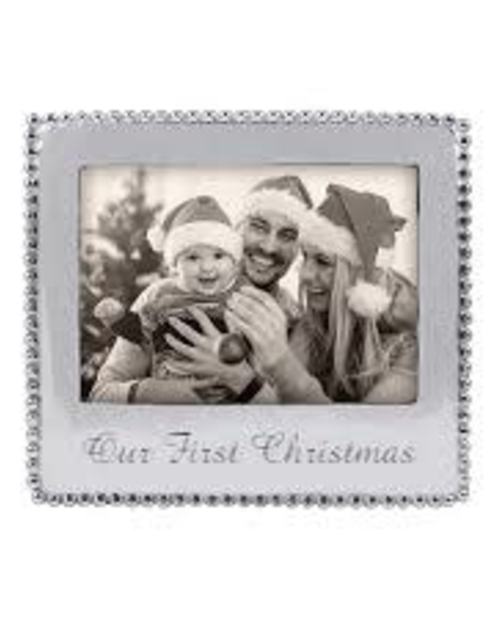 Mariposa Our First Christmas Frame