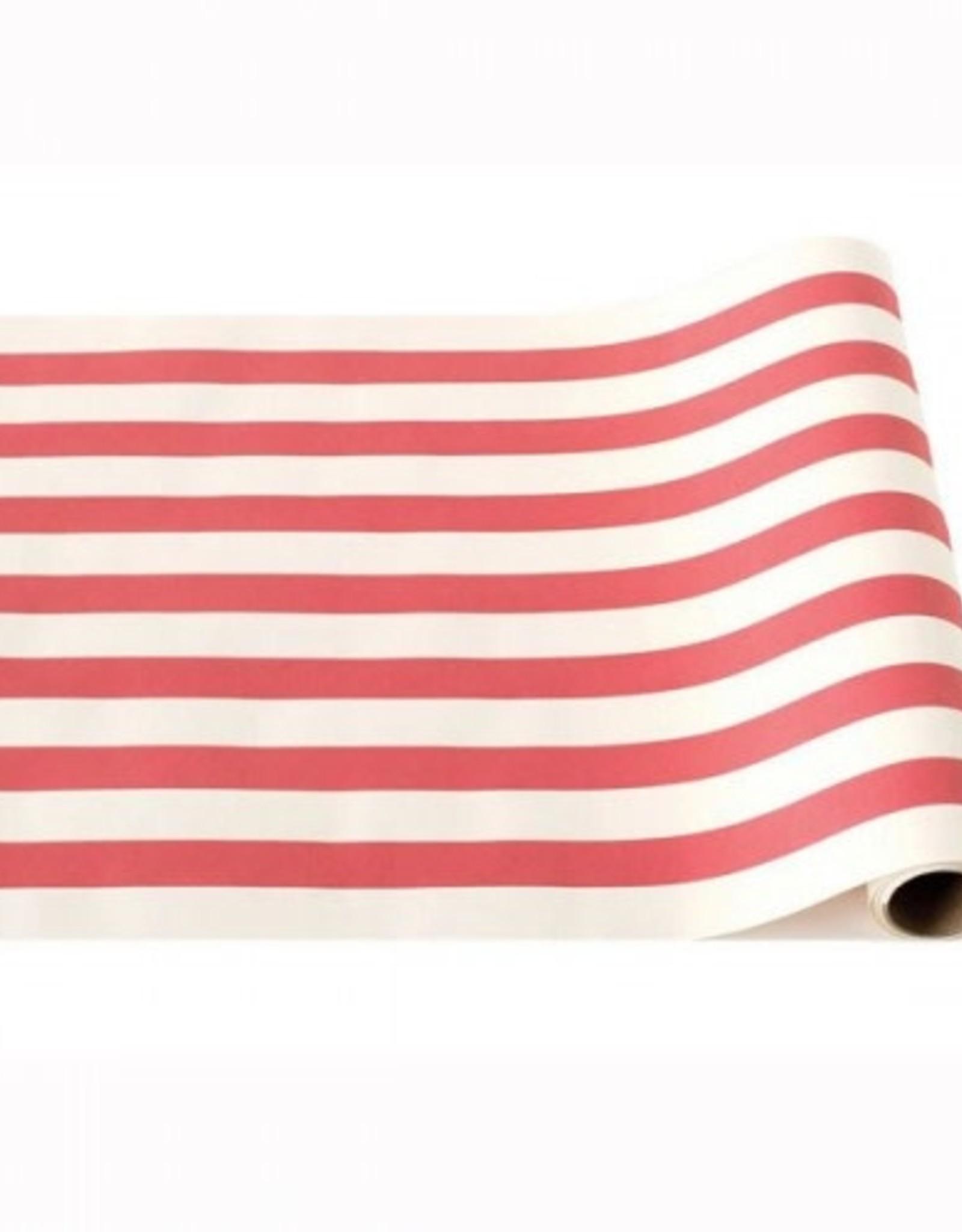 "Home Red Classic Stripe Runner - 20""x25"""