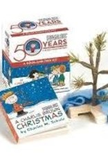 Hachette Book Group Charlie Brown Christmas Tree and Book Kit
