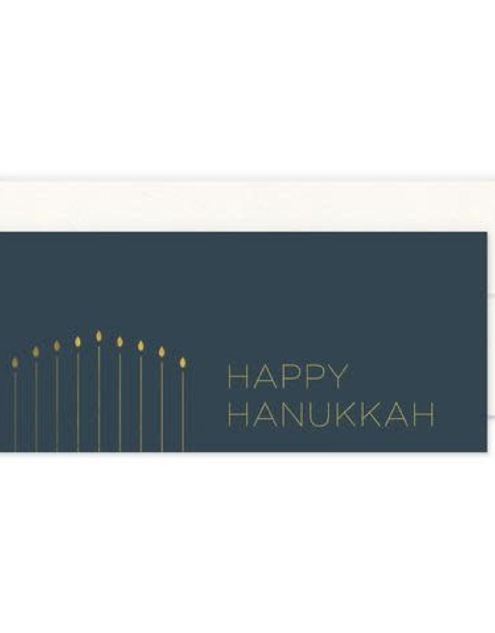 Smitten on Paper Simple Hanukkah Greeting Card