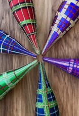 Cody Foster Tartan Spindle Ornament