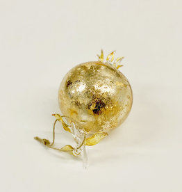 Cody Foster Shimmering Pomegranate Ornament - Gold