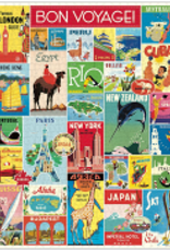Cavallini Vintage Travel 1000 Piece Puzzle
