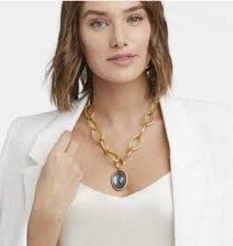 Julie Vos Fleur-de-Lis Statement Necklace