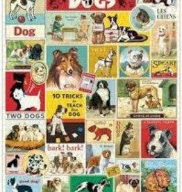 Cavallini Dogs 1000 Piece Puzzle