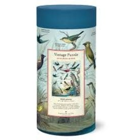 Cavallini Audubon Birds 1000 Piece Puzzle