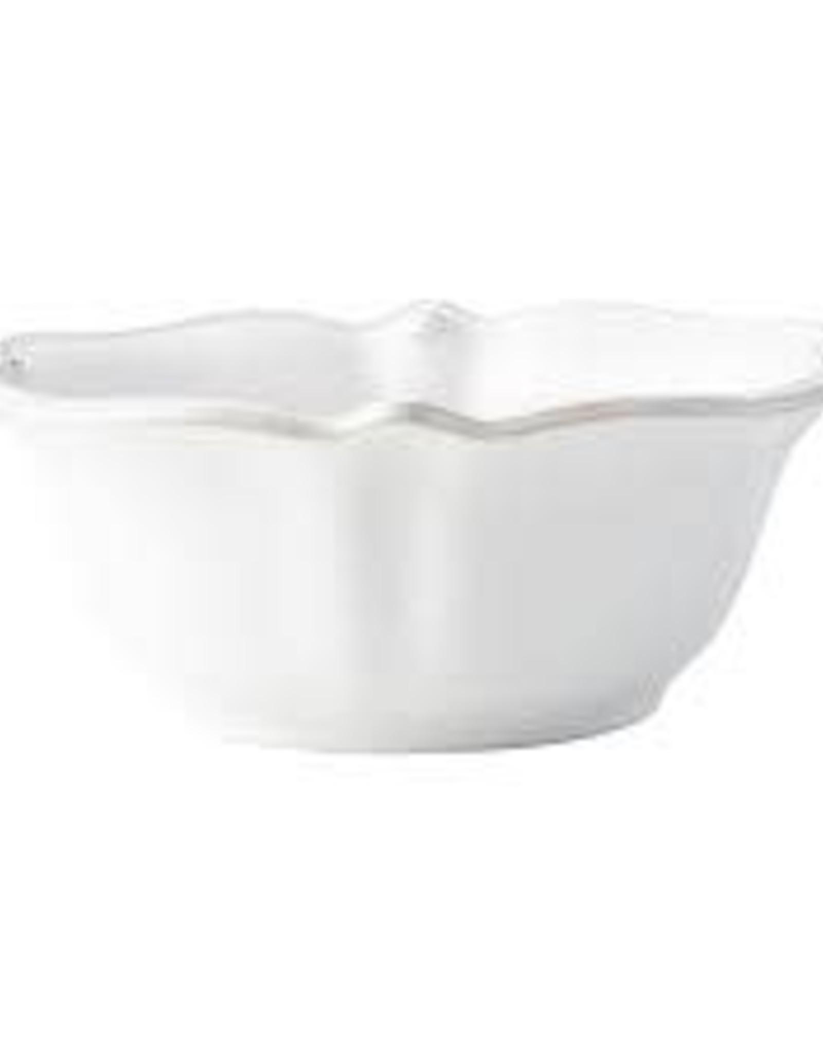 Juliska Berry & Thread Whitewash Cereal/Ice Cream Bowl