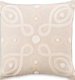 """Juliska Berry & Thread Natural 22"""" Pillow"""